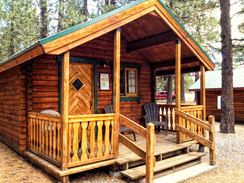 affordable rustic sleeping cabins at mammoth mountain rv